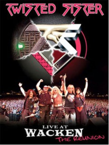 TWISTED SISTER - Live At Wacken / dvd+cd / DVD