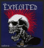 The Exploited - ?Mohican Multicolour? Woven Patch. import zenekaros felvarró
