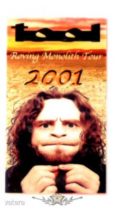 TOOL - ROVING MONOLITH TOUR. 2001. ALL ACCES. Stage pass. - 3999 Ft kép