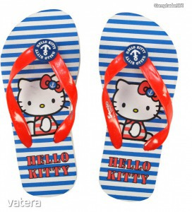Hello Kitty flip-flop papucs - 1290 Ft kép